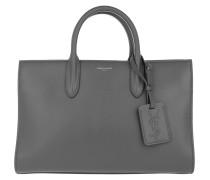Jane Tote Medium Cabas Leather Grey Tote