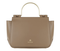 Lexi Handle Bag Clay Brown Satchel Bag