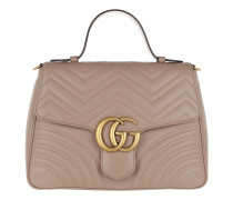 GG Marmont Medium Top Handle Bag Rose Tote