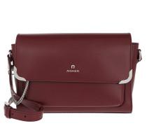 Amber M Crossbody Bag Burgundy Tasche
