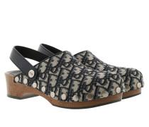 Schuhe Diorquake Slipper Leather Blue blau