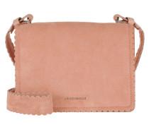 Leopoldine Suede Crossbody Bag Rose Tasche