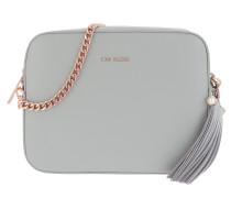 Amora Medium Tassel Detail Camera Bag Grey