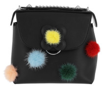 Back To School Mini Bagpack Pompon Black