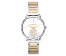 Ladies Portia Watch Silber/Gold Armbanduhr gold