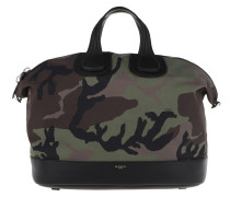 Nightingale Camouflage+Givenchy Strap Multicolour Tote
