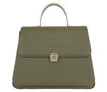 Genoveva Handle Bag Medium Olive Green Satchel Bag