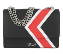 K/Stripes Shoulder Bag Black Tasche