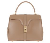 Satchel Bag 16 Bag Small Satinated Calfskin Beige beige