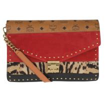 Leo Combo Clutch Large Viva Red Satchel Bag