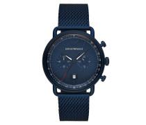 Uhr Men Aviator Watch Blue
