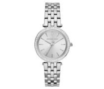 Mini Darci Silver-Tone Ladies Watch Armbanduhr