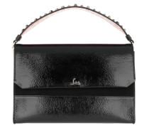 Loubi Blus Shoulder Bag Patent Leather Black Tasche