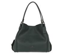 Tote Polished Leather Edie 31 Shoulder Bag Cypress grau blau