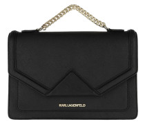 K/Klassik Shoulderbag Black/Gold Tasche