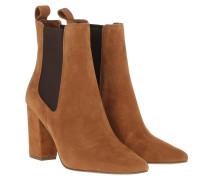 Boots Subtle Bootie Chestnut Suede