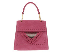 Lace Handle Bag Framboise Tasche