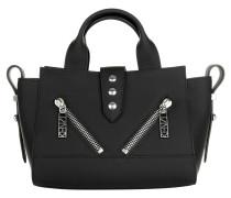 Nylon Mini Tote Black Bowling Bag