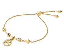 Schmuck MKC1107AN710 Logo Charm Slider Gold gold