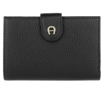 Diadora Wallet Black Portemonnaie