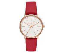 Uhr MK2784 Pyper Ladies Leathers Watch Roségold rot