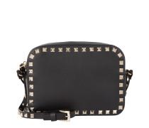 Rockstud Camera Crossbody Bag Black Tasche