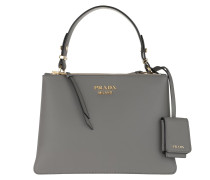 Tote Deux Small Bag Leather Marmo