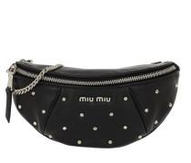 Gürteltasche Studded Belt Bag Nappa Leather Black schwarz