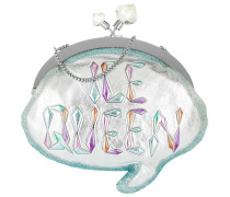 Ice Queen Speech Bubble Bag Silver & Multi Tasche