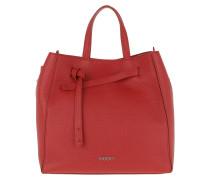 Tote Mayfair Drawstring Shopping Bag Bright Red rot