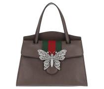 GucciTotem Medium Top Handle Bag Mocca Tote