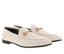 Schuhe Brixton Horsebit Loafer Leather Mystic White