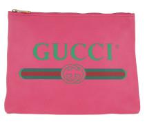 Pochette Gucci Print Pouch Fuxia pink