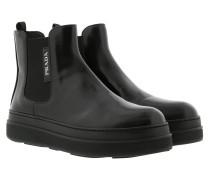 Flatform Chelsea Boots Nero Schuhe
