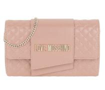 Umhängetasche Logo Chain Crossbody Bag Cipria rosa