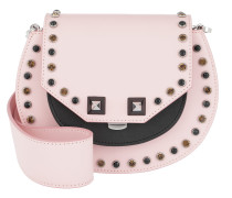 Mari Bling Studded Shoulder Bag Pink