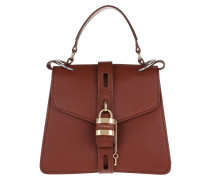Tote Aby Small Day Bag Leather Sephia Brown