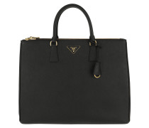 eade6f0415d7 Tote Galleria Maxi Bag Saffiano Leather Black schwarz. Prada