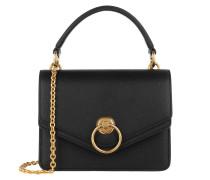 Umhängetasche Harlow Small Shoulder Bag Leather Black schwarz