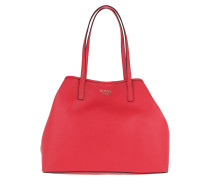 Vikky Large Tote Red Tote