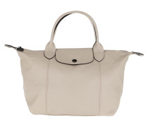 Tote Le Pliage S Leather Chalk