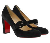 Fyalta 85 Suede Pumps Black Schuhe