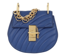 Drew Bijou Mini Leather Majesty Blue Tasche