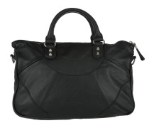 Plain PaulaB Handbag Black Tote