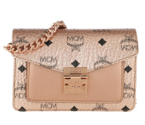 Gürteltasche Patricia Visetos Belt Bag Mini Champagne Gold rosa