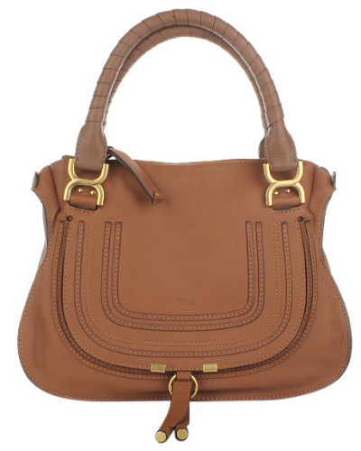 Marcie Medium Shoulder Bag Tan Satchel Bag