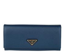 Portafoglio Continental Classico Bluette