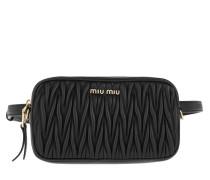 Gürteltasche Matelassé Belt Bag Leather Black schwarz