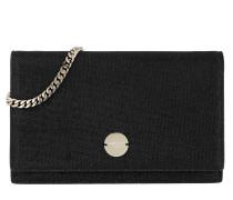 Florence Mini Shoulder Bag Black Clutch