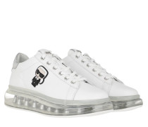 Sneakers Kapri Kushion Sneaker White Leather/Silver
